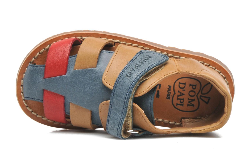 Sandales et nu-pieds Pom d Api WAFF BOB Multicolore vue gauche