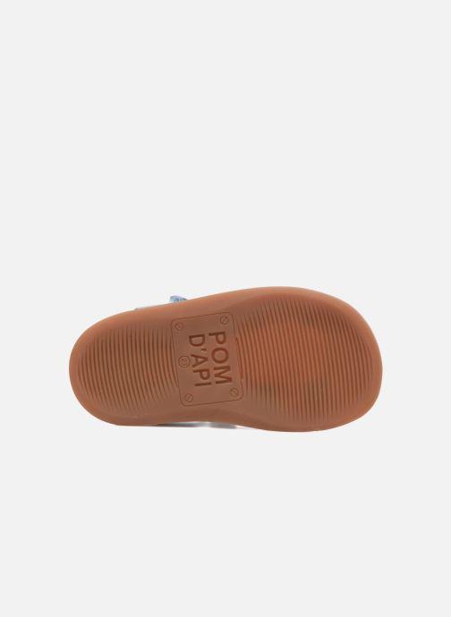Sandales et nu-pieds Pom d Api YAPO TRESSE Multicolore vue haut