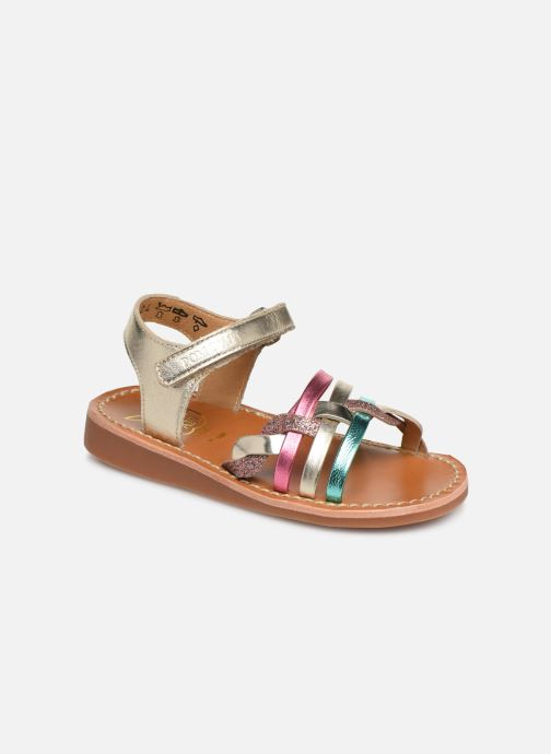Pom d Api YAPO TRESSE (Multicolore) Sandales et nu pieds