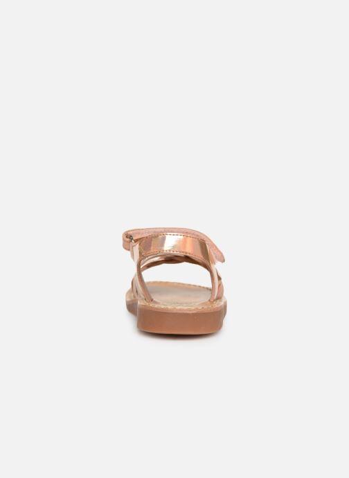 Sandalen Pom d Api YAPO TRESSE Roze rechts