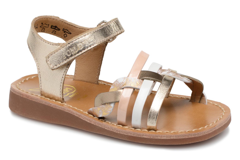 Sandals Pom d Api YAPO TRESSE Multicolor detailed view/ Pair view