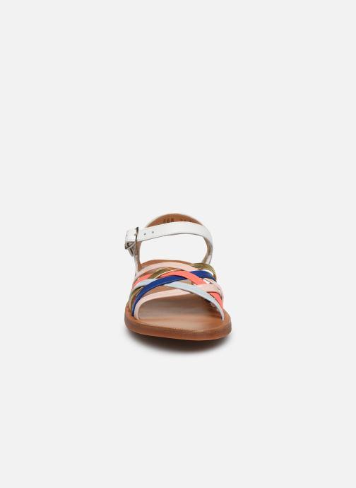 Sandales et nu-pieds Pom d Api PLAGETTE LUX Multicolore vue portées chaussures
