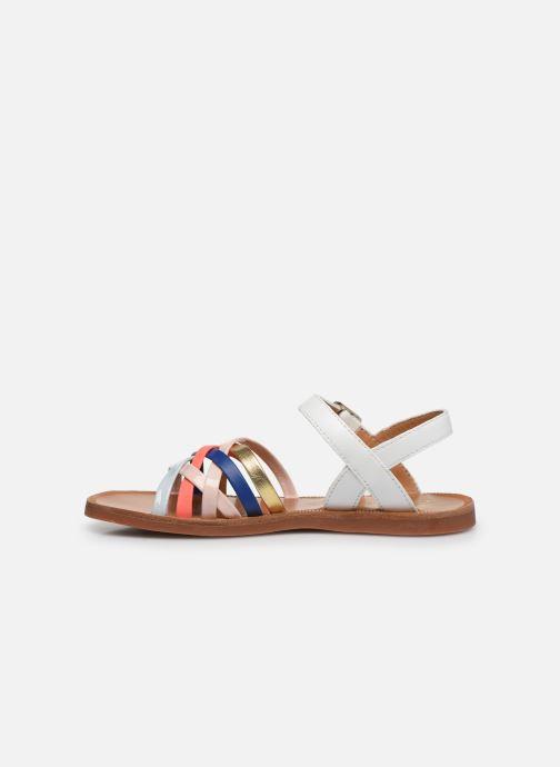 Sandales et nu-pieds Pom d Api PLAGETTE LUX Multicolore vue face