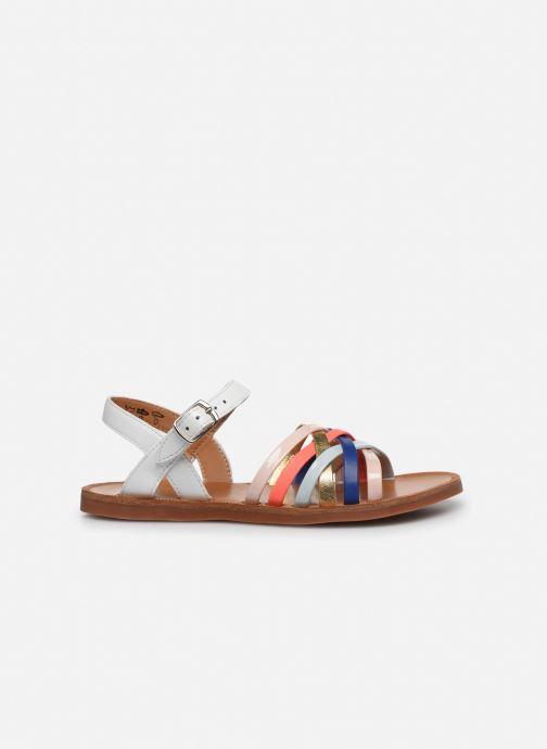 Sandales et nu-pieds Pom d Api PLAGETTE LUX Multicolore vue derrière