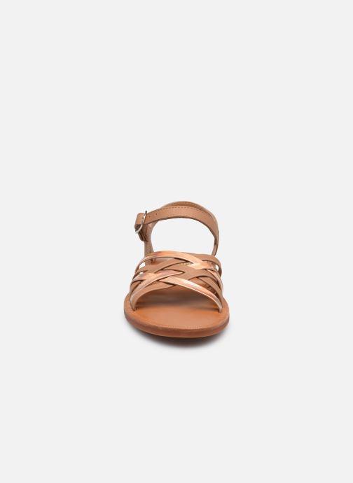 Sandalen Pom d Api PLAGETTE LUX braun schuhe getragen