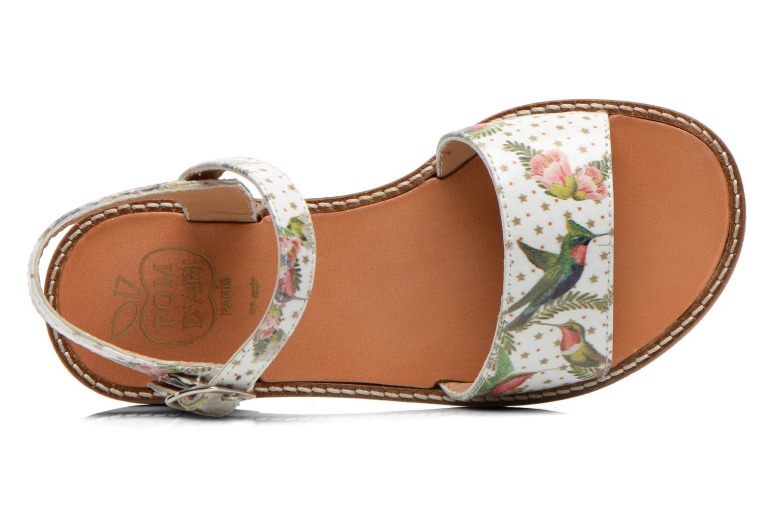 Sandals Pom d Api NIKKY SANDAL Multicolor view from the left