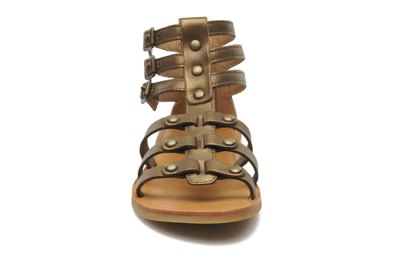 Sandales et nu-pieds Shwik LAZAR STRAP ATLANTA Or et bronze vue portées chaussures