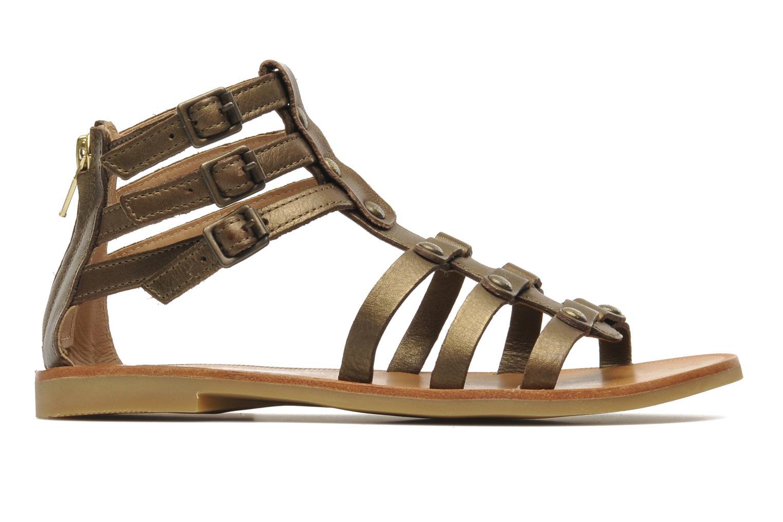 Sandales et nu-pieds Shwik LAZAR STRAP ATLANTA Or et bronze vue derrière