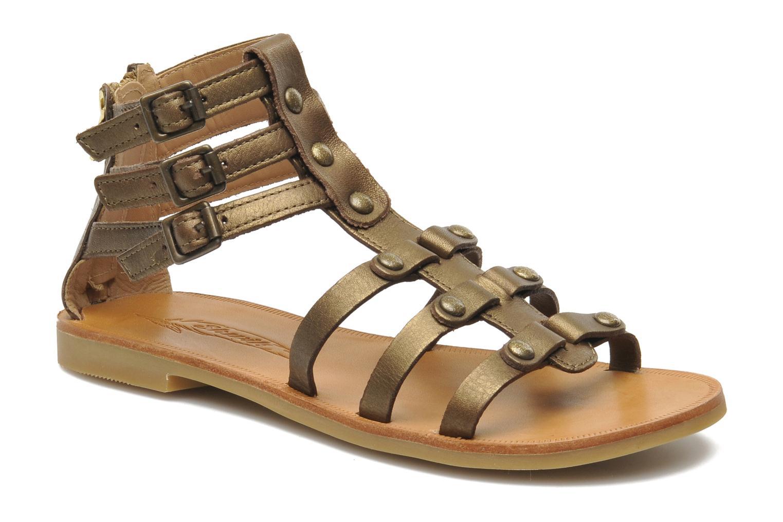Sandales et nu-pieds Shwik LAZAR STRAP ATLANTA Or et bronze vue détail/paire