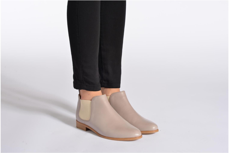 Bottines et boots Rebecca Balducci Louis Gris vue bas / vue portée sac