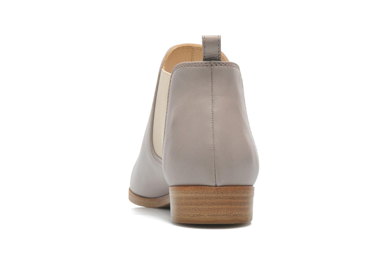 Bottines et boots Rebecca Balducci Louis Gris vue droite