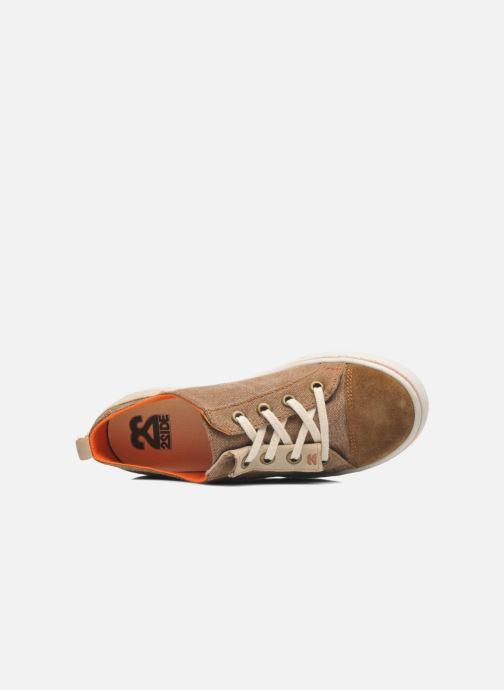 Sneaker 2 Side 2S - TEN braun ansicht von links