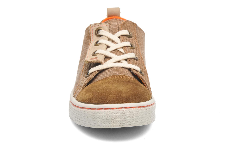 Baskets 2 Side 2S - TEN Marron vue portées chaussures