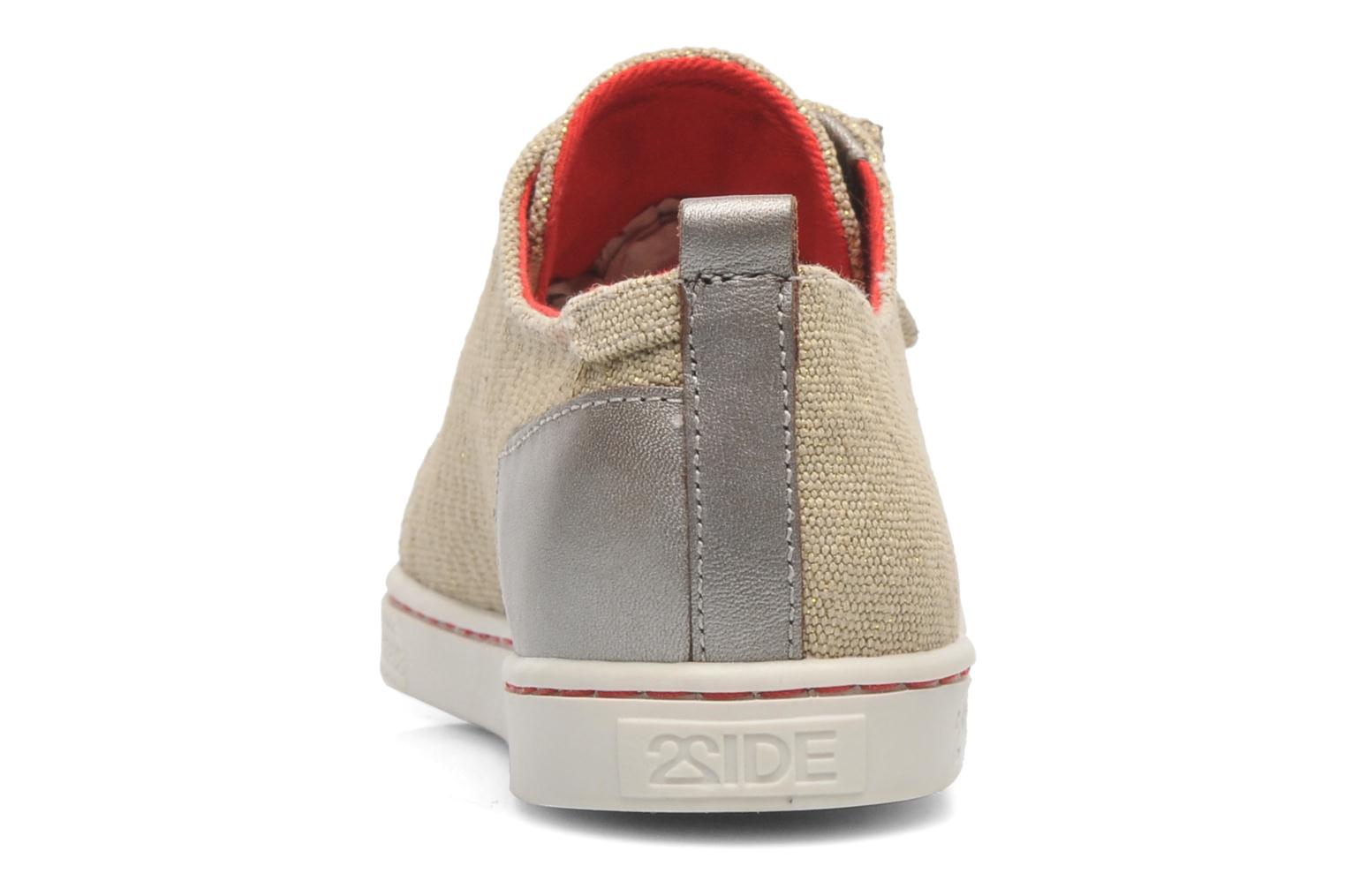 Sneakers 2 Side 2S - SWING Beige immagine destra