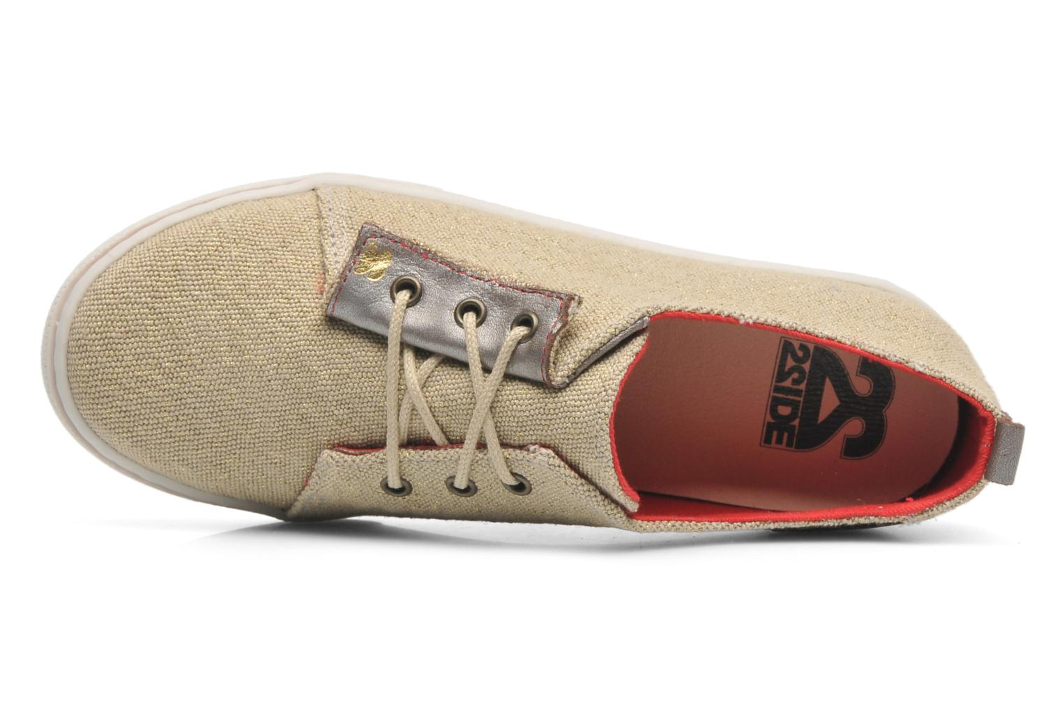 Sneakers 2 Side 2S - SWING Beige immagine sinistra
