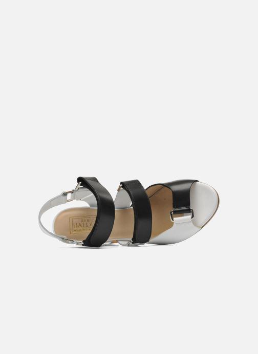 Sandales et nu-pieds Rebecca Balducci Sparta Blanc vue gauche