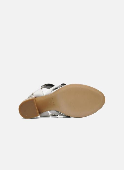 Sandales et nu-pieds Rebecca Balducci Sparta Blanc vue haut