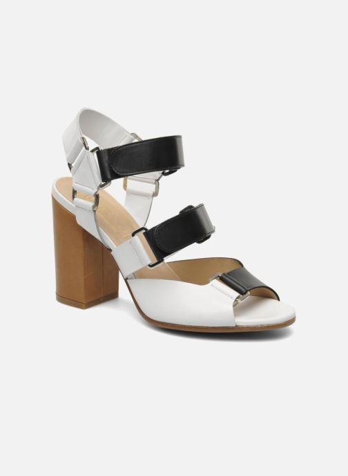 Sandales et nu-pieds Rebecca Balducci Sparta Blanc vue détail/paire