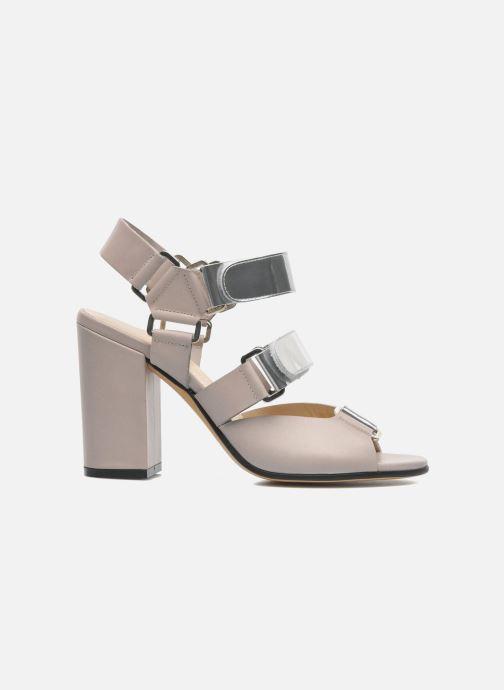 Sandales et nu-pieds Rebecca Balducci Sparta Gris vue derrière