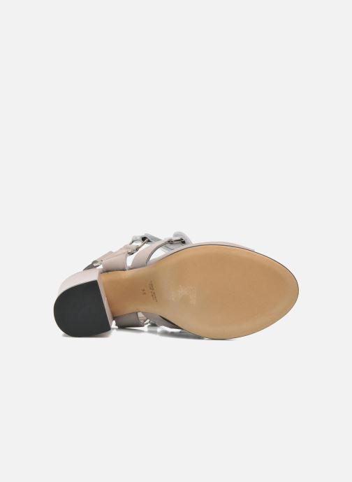 Sandales et nu-pieds Rebecca Balducci Sparta Gris vue haut