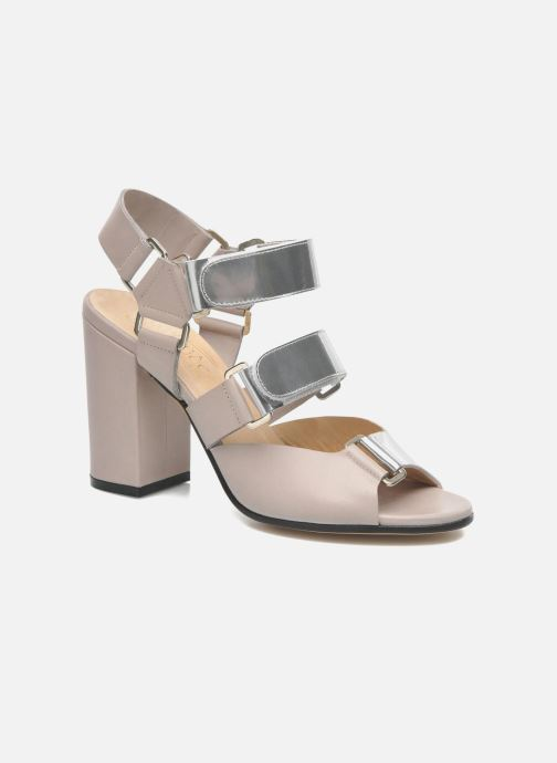 Sandales et nu-pieds Rebecca Balducci Sparta Gris vue détail/paire