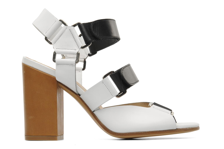 Sandales et nu-pieds Rebecca Balducci Sparta Blanc vue derrière