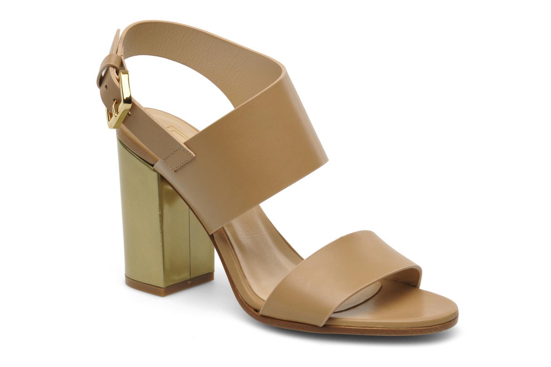 Sandales et nu-pieds Rebecca Balducci Ruby Beige vue détail/paire