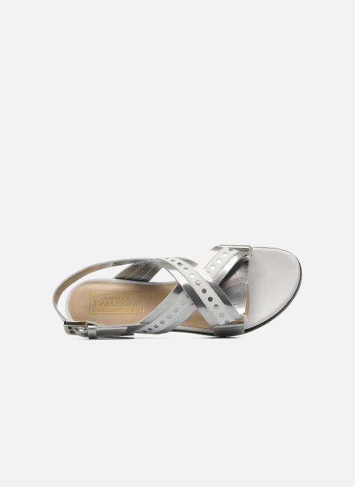 Sandales et nu-pieds Rebecca Balducci Garda Argent vue gauche
