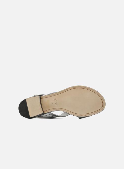 Sandales et nu-pieds Rebecca Balducci Garda Argent vue haut