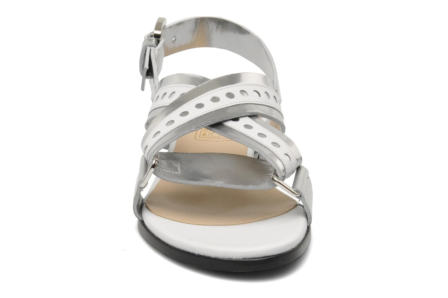 Sandals Rebecca Balducci Garda Silver model view