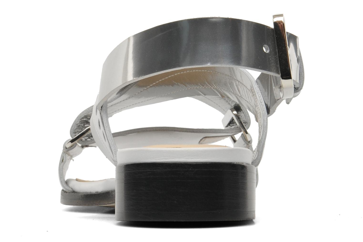 Sandals Rebecca Balducci Garda Silver view from the right