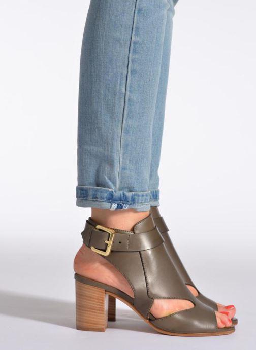 Sandales et nu-pieds Rebecca Balducci Athena Vert vue bas / vue portée sac
