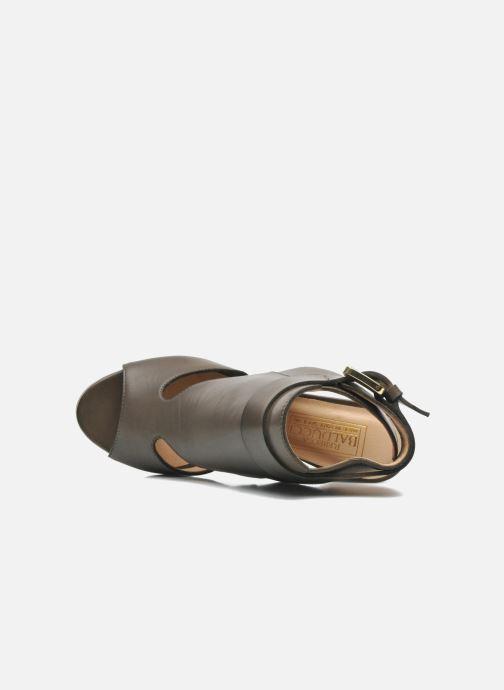 Sandales et nu-pieds Rebecca Balducci Athena Vert vue gauche