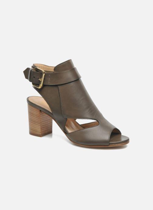 Sandales et nu-pieds Rebecca Balducci Athena Vert vue détail/paire
