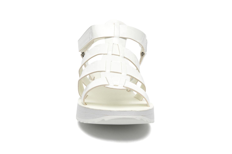 Sandalen Eleven paris Duse F weiß schuhe getragen
