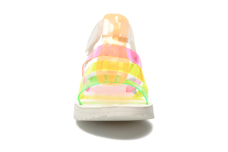 Sandales et nu-pieds Eleven paris Duse F Multicolore vue portées chaussures
