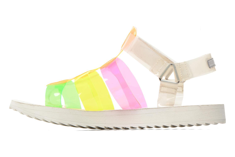 Sandales et nu-pieds Eleven paris Duse F Multicolore vue face