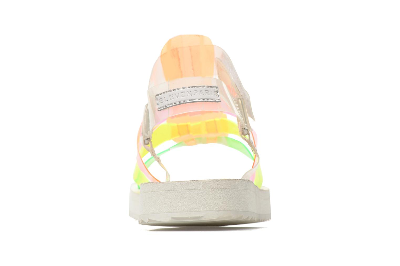 Sandales et nu-pieds Eleven paris Duse F Multicolore vue droite