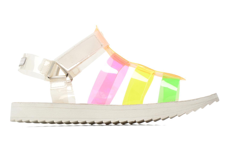 Sandales et nu-pieds Eleven paris Duse F Multicolore vue derrière