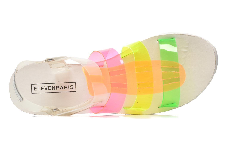 Sandales et nu-pieds Eleven paris Duse F Multicolore vue gauche