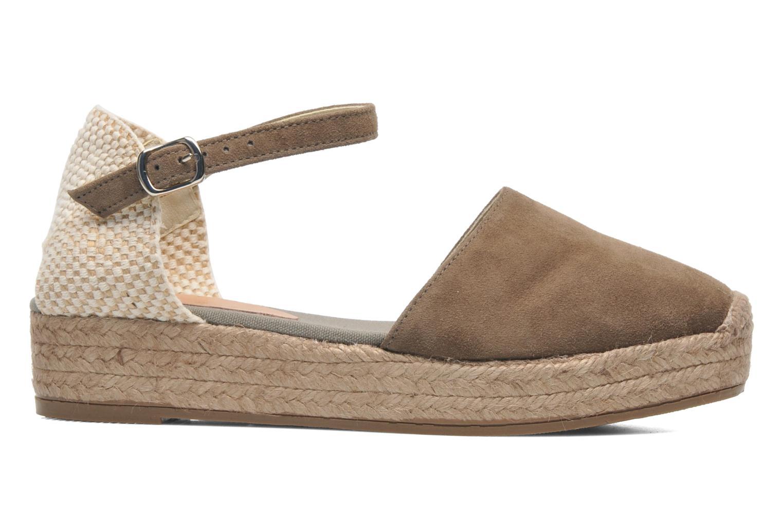 Sandales et nu-pieds Georgia Rose Inan Marron vue derrière