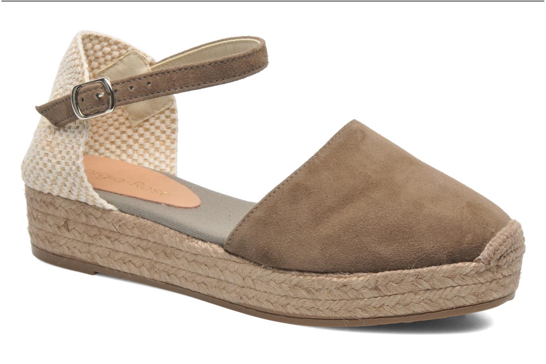 Sandales et nu-pieds Georgia Rose Inan Marron vue détail/paire