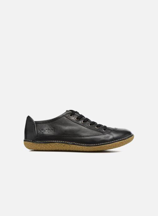 Zapatos con cordones Kickers Hollyday Negro vistra trasera