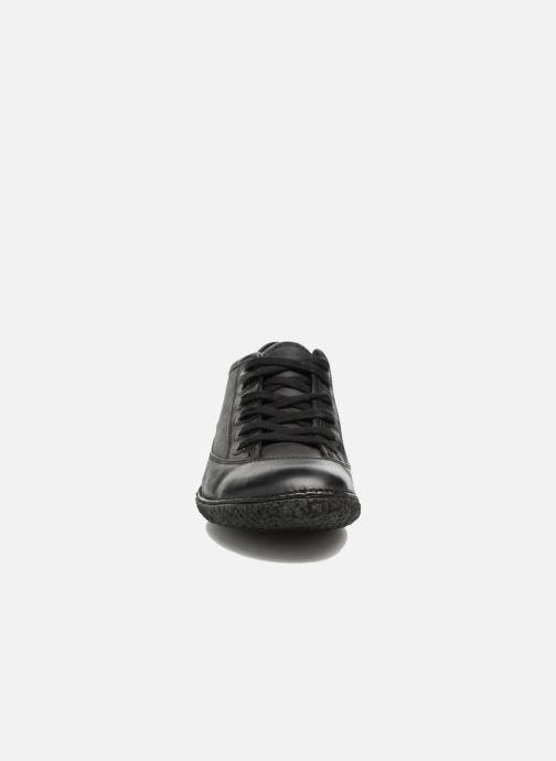 Zapatos con cordones Kickers Hollyday Negro vista del modelo