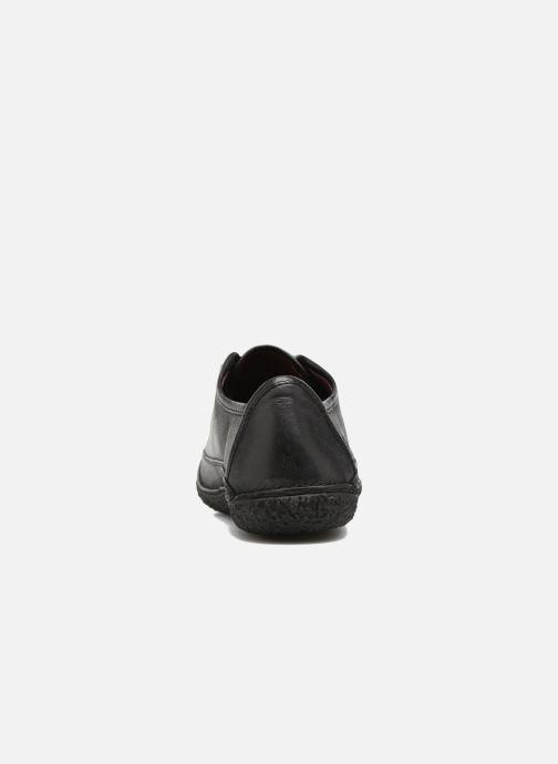 Zapatos con cordones Kickers Hollyday Negro vista lateral derecha