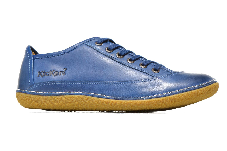 Schnürschuhe Kickers Hollyday blau ansicht von hinten