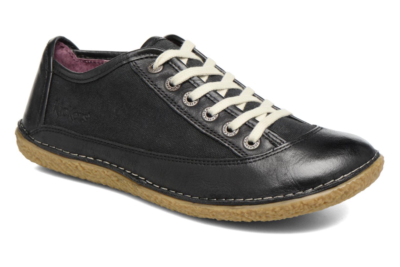Chaussures à lacets Kickers Hollyday Noir vue détail/paire