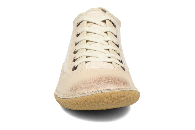 Chaussures à lacets Kickers Hollyday Blanc vue portées chaussures