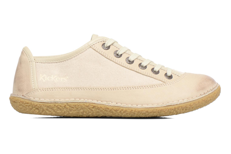 Chaussures à lacets Kickers Hollyday Blanc vue derrière