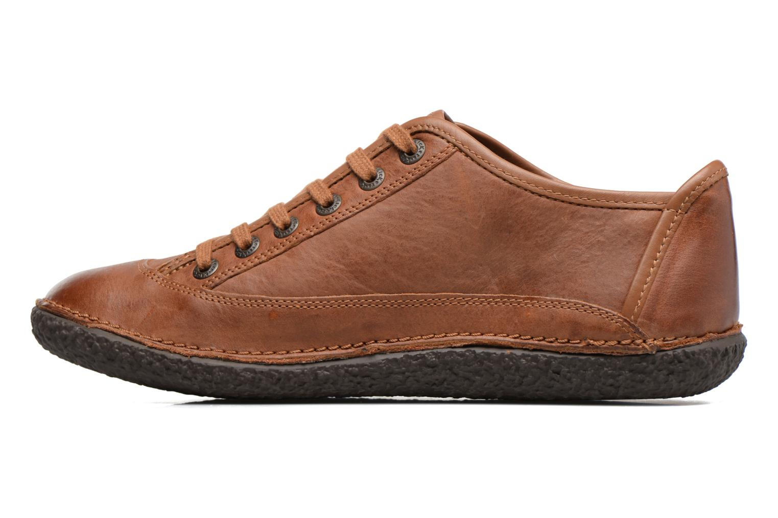 Chaussures à lacets Kickers Hollyday Marron vue face